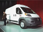 Engine choices for the ProMaster include a 3.6L Pentastar V-6 or an