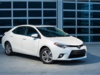 The 2014 Corolla LE Eco model. The Eco grade features a