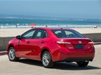 The 2014 Corolla LE grade features  a backup camera, climate control,