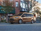 Ford said its Transit Connect Wagon will go on sale in the fourth