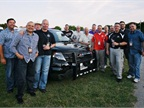 Ford's Police Advisory Board poses for a group photo at a