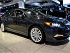 Acura had its 2014-MY RLX at the event. The RLX features a new 3.5L