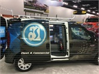 Adrian Steel showed a ProMaster City prototype at its Work Truck Show