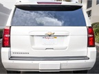 The rear window and the power rear liftgate can be opened remotely and