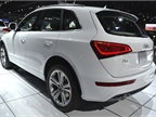 Audi said the Q5 TDI will be more fuel efficient and will offer new