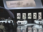 Audi debuted four TDI clean diesel models, including versions of its
