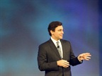 Mark Fields, President of the Americas, at the Monday night business