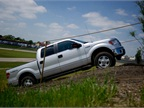 Ford s F-150, at the track.