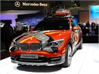 Another BMW model at the show was its X1 Concept K2  Power Ride.  The