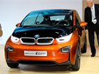 BMW also showed its new i3 Concept Coupe at the event. BMW said the