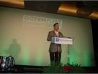 Bob Brown emceed the various presentations at the 2012 Green Fleet