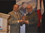 Dave Alfonso of KIA Motors (left) presented the IARA Circle of