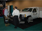 BrandFX showed its upfitting options at the event. Photo by Greg