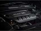 The 2.4-liter TigerShark four-cylinder (shown) generates 184 hp.