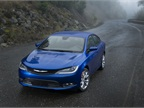 The Chrysler 200 will compete with the Toyota Camry, Ford Fusion, and