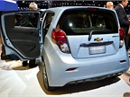 The Spark EV can fast-charge in 20 minutes but is capable of charging