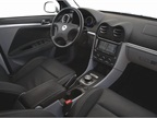 The interior is available in Gray Eco-Cloth (standard) and Black