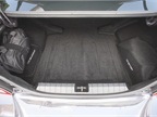 The carpet-lined trunk provides 14.1 cubic-ft. of cargo room.