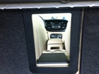 The pass-through opening from the Dodge Dart trunk allows long objects