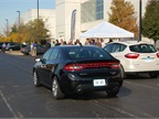 Chrysler showed the new Dodge Dart. The Aero model of the Dart gets an