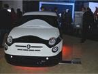 Stormtrooper-themed Fiat 500e