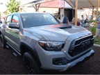 Toyota had its 2017 Tacoma TRD Pro on hand at the Texas State Fair.