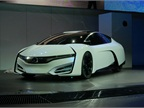 The Honda FCEV Concept, which will launch in the U.S. and Japan in