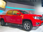 The mid-size Colorado will come standard with a 2.5L gasoline engine,