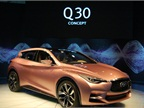 Infiniti s Q30 Concept combines features of a coupe, hatchback and