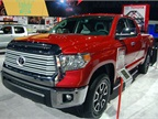 The Toyota Tundra is part of Toyota s truck family.