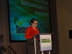 Joanne Tucker, public relations manager for Green Fleet Conference,
