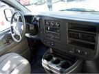 The truck-like interior includes a AM/FM radio, CD player accessible