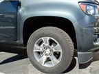 The truck arrives with 17-inch aluminum wheels.