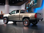 The ZR2 concept is a diesel pickup based on the Colorado Z71 model.