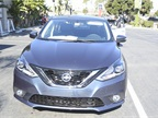 The 2016 Nissan Sentra features a redesigned hood, front fascia and