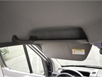 Several driver cargo areas are available, including this overhead