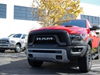 Ram designers gave the truck a grille with a tie-in to the current beard craze.