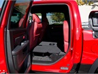 Rear seats fold away to reveal a flat cargo floor with space
