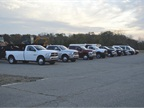 Ram provided a full line up of truck and commercial products from the