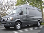 This is the short wheelbase Sprinter 2500 passenger van with the high