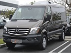 This is the low-roof passenger van model on the Sprinter 2500 in the