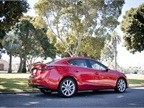 The Mazda3 has clean, fluid, elegant lines, and a compact profile.