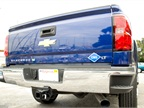 The bi-fuel Silverado 2500HD allows drivers to flip a switch to