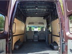 The van offers a spacious cargo area that maxes out at 234.1 cubic