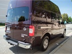 The NV cargo van comes in three payload configurations, including the