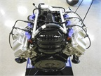 A 6.2L V-8 CNG/LPG engine. It can also run on biodiesel and E-85 as
