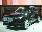 The 2016 XC90 features an option for a plug-in hybrid.