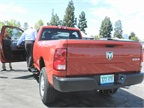 The 2014 Ram 2500 features a 6.4-liter HEMI V8 engine.