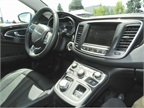 The 200 includes amenities such as heated seats, interior LED lighting