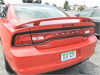 The Charger includes safety features such as Forward Collision